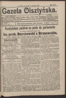 Gazeta Olsztyńska, 1911, nr 9