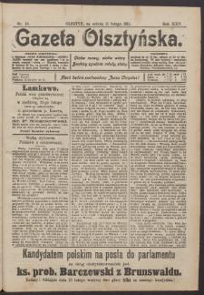 Gazeta Olsztyńska, 1911, nr 18