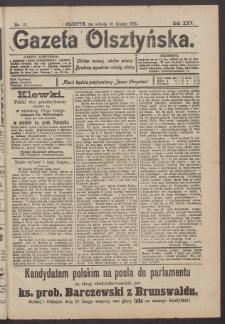 Gazeta Olsztyńska, 1911, nr 21