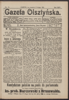 Gazeta Olsztyńska, 1911, nr 23