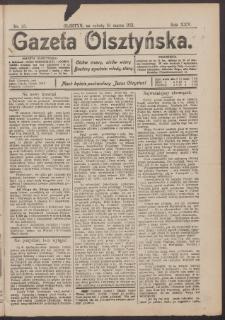 Gazeta Olsztyńska, 1911, nr 33