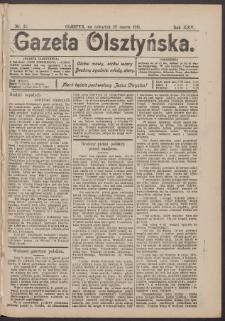 Gazeta Olsztyńska, 1911, nr 35