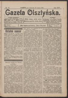 Gazeta Olsztyńska, 1911, nr 38