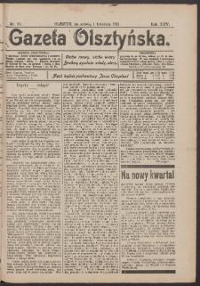 Gazeta Olsztyńska, 1911, nr 39