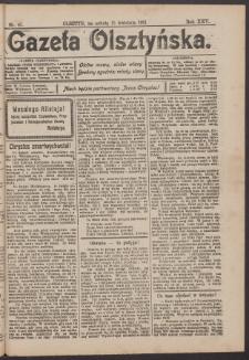 Gazeta Olsztyńska, 1911, nr 45