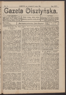 Gazeta Olsztyńska, 1911, nr 55