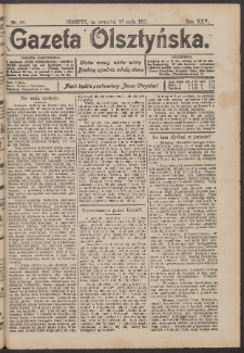 Gazeta Olsztyńska, 1911, nr 58
