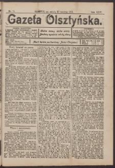 Gazeta Olsztyńska, 1911, nr 71
