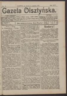 Gazeta Olsztyńska, 1911, nr 75
