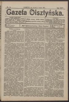 Gazeta Olsztyńska, 1911, nr 81