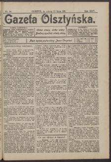 Gazeta Olsztyńska, 1911, nr 86