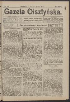 Gazeta Olsztyńska, 1911, nr 91