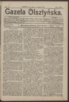 Gazeta Olsztyńska, 1911, nr 92