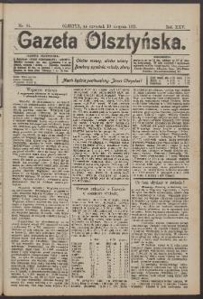 Gazeta Olsztyńska, 1911, nr 94