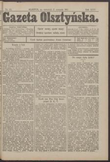 Gazeta Olsztyńska, 1911, nr 97