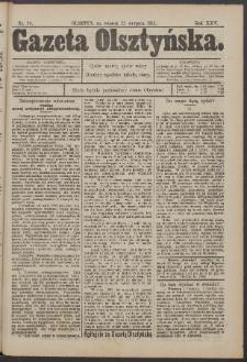 Gazeta Olsztyńska, 1911, nr 99