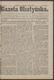 Gazeta Olsztyńska, 1911, nr 100
