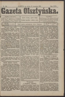 Gazeta Olsztyńska, 1911, nr 113