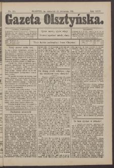 Gazeta Olsztyńska, 1911, nr 115