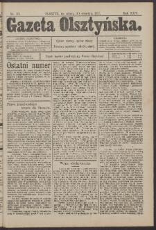 Gazeta Olsztyńska, 1911, nr 116