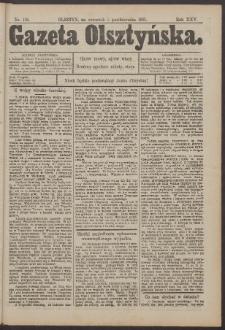 Gazeta Olsztyńska, 1911, nr 118