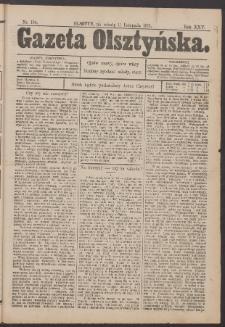 Gazeta Olsztyńska, 1911, nr 134