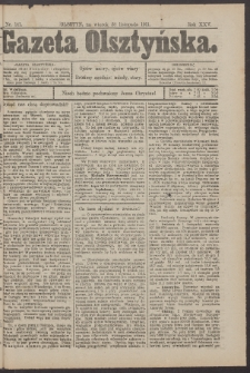 Gazeta Olsztyńska, 1911, nr 141