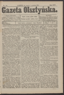 Gazeta Olsztyńska, 1911, nr 144