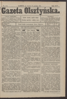 Gazeta Olsztyńska, 1911, nr 150