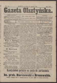Gazeta Olsztyńska, 1911, nr 154