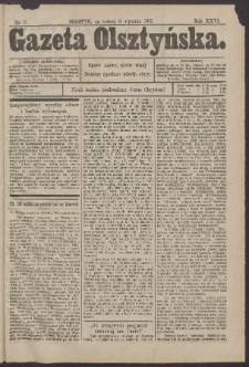 Gazeta Olsztyńska, 1912, nr 3