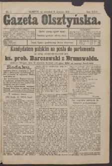 Gazeta Olsztyńska, 1912, nr 5