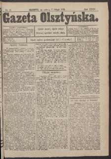 Gazeta Olsztyńska, 1912, nr 21