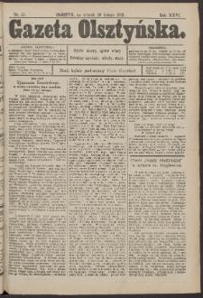 Gazeta Olsztyńska, 1912, nr 22