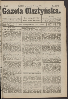 Gazeta Olsztyńska, 1912, nr 23