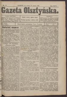 Gazeta Olsztyńska, 1912, nr 39