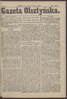 Gazeta Olsztyńska, 1912, nr 40