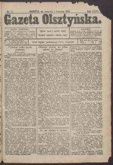 Gazeta Olsztyńska, 1912, nr 41