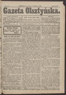 Gazeta Olsztyńska, 1912, nr 42
