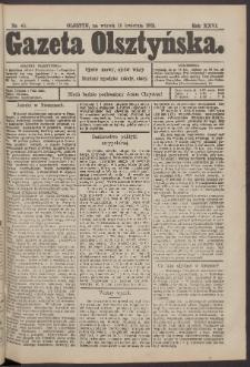 Gazeta Olsztyńska, 1912, nr 45