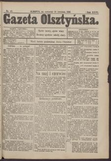 Gazeta Olsztyńska, 1912, nr 46