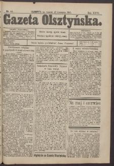 Gazeta Olsztyńska, 1912, nr 48