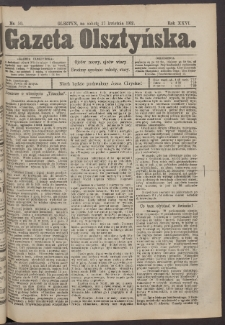 Gazeta Olsztyńska, 1912, nr 50