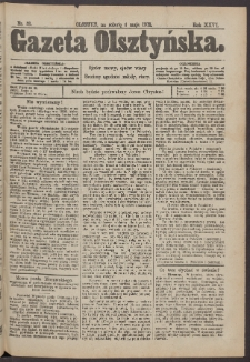 Gazeta Olsztyńska, 1912, nr 53