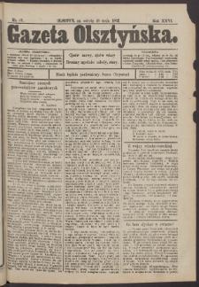Gazeta Olsztyńska, 1912, nr 59