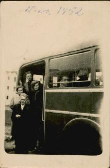 [Wyjazd autokarem do Warszawy 1952]