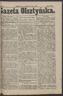 Gazeta Olsztyńska, 1912, nr 84
