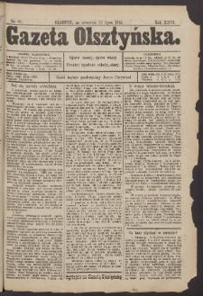 Gazeta Olsztyńska, 1912, nr 87
