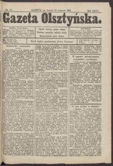 Gazeta Olsztyńska, 1912, nr 98