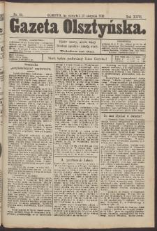 Gazeta Olsztyńska, 1912, nr 99